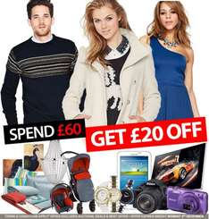 Littlewoods clearance on ebay £20 off a £60 spend