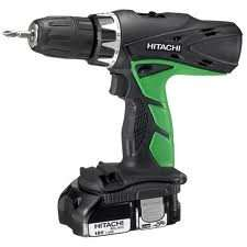 Homebase - Hitachi 18v DV18DCL12 Combi Drill with 2 x 1.5Ah batteries, charger and case  for £79.99