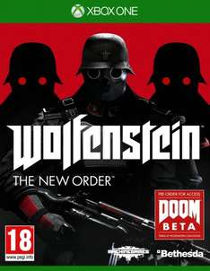 Wolfenstein The New Order Inc BETA access to DOOM Xbox One £17.86 at Amazon