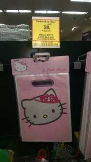 Hello Kitty Lootbags 8pack. 38p in Tesco