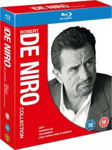 The Robert De Niro Collection Blu-ray £8.09 delivered @ Zavvi (Heat / Goodfellas / Once Upon A Time In America / The Mission)