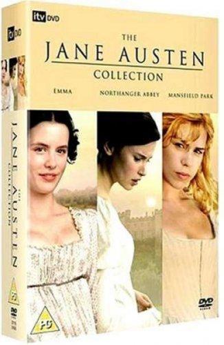 Jane Austen Box Set - Mansfield Park/Northanger Abbey/Emma DVD £5.40 (using code) delivered @ zavvi.com