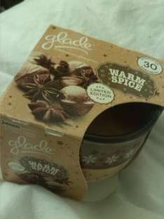 Glade Warm Spice Candle £1 instore at Asda