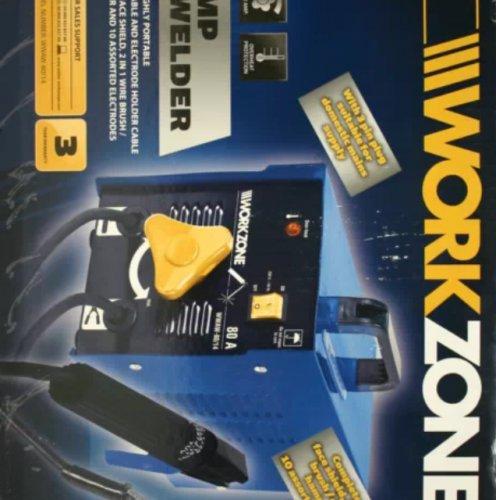Workzone arc welder 24.99 @ aldi Havant