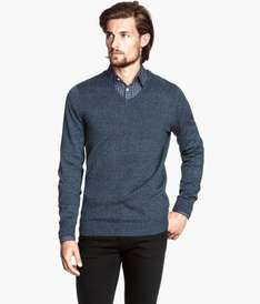 H&M Fine-knit jumper 100% Cotton £7 reduced from £14.99 various colours available online & instore