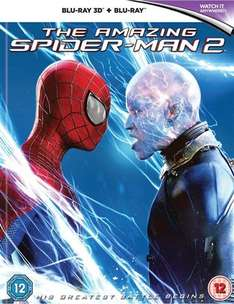 The Amazing Spider-Man 2 3D Blu-Ray (Pre-owned) Cex £8