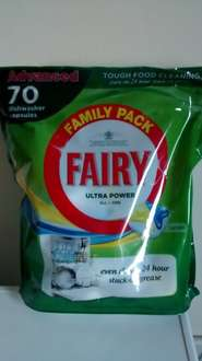 70 Fairy ultra power dishwasher tablets £8 Iceland