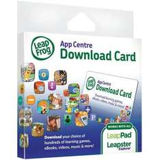 Leapfrog Leappad App centre £15 download card for less than half price £7.46 at Toys R Us