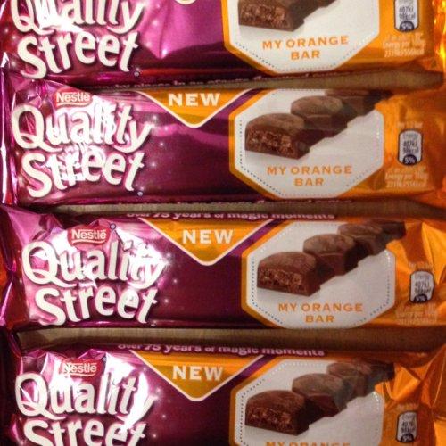 Quality Street My Orange Bar 15p from 60p - Waitrose in store