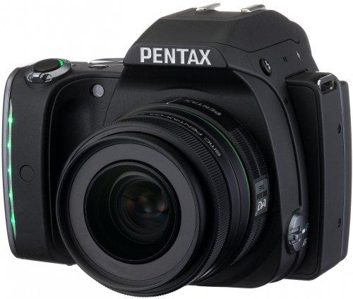Pentax KS-1 DSLR Camera - Black 50mm Prime Lens, 20MP, £308.99 (£269 after Cashback) + Pentax 16GB Flu Memory Card for O-FC1 (priced £79.75) @ Amazon