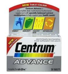 Centrum Advance 3 packs for the price of 1 £4.79 @ Boots