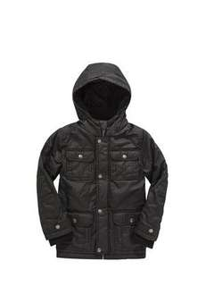 Older Boys (8-14 yrs)   Waxed Four Pocket Coat*sale* + 3% cashback! £14.00 @ F&F Clothing
