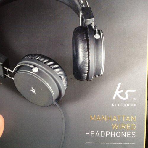 KS kitsound manhatten wired headphone @ Sainsbury's £9 down from £35