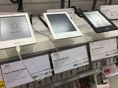 Kobo Touch eReader - Black £12, lilac £10 @ Staples instore