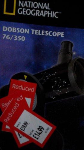 national geographic dobson telescope £14.99 @  aldi