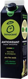 Innocent Super Smoothies (750ml) was £3.50 now £1.75 @ Sainsbury's