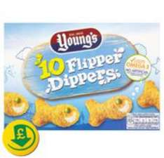 Free, after cashback, pack of youngs 10 flipper dippers £1.00 @ Morrisons