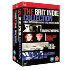The Brit Indie Collection Blu-Ray £8.98 delivered @ The Hut