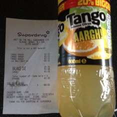Superdrugs Tango Aargh! 600ml 3 for 2 1p @ Superdrug