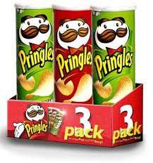 Triple Pack of Pringles- £3 with Digital Hd Movie Download