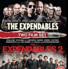 Expendables 1 & 2 set on Blu Ray only £5 @ Sainsburys instore