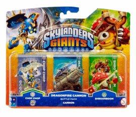 Skylanders Giants Dragonfire Cannon Battle Pack £3.00 delivered @ GAME