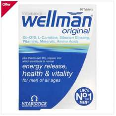 Boots pricing glitch Wellman and Wellwoman just £2.70 each when you buy 3 - back in stock
