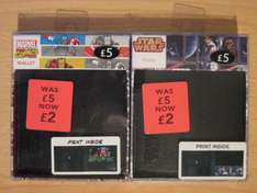 Star Wars & Marvel Comics Wallets reduced from £5 to £2 @ George at Asda
