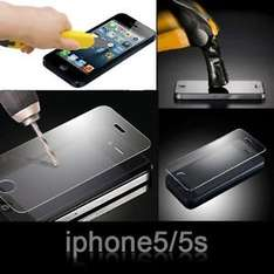 iPhone 5/5S 100% GENUINE TEMPERED GLASS SCREEN PROTECTOR FILM + FREE STYLUS £1.85 @ Ebay/zukin-ltd