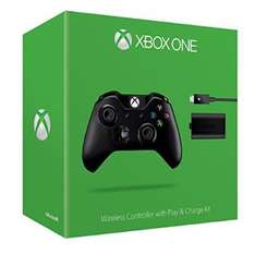 Official Xbox One Wireless Controller with play and charge kit £39.85 @ Amazon