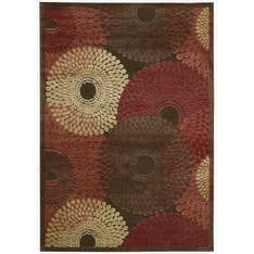 Nourison 2.26 x 1.60 cm 30 Percent Polypropylene 70 Percent Acrylic Graphic Illusions Rug, Brown £59.70 @ Amazon
