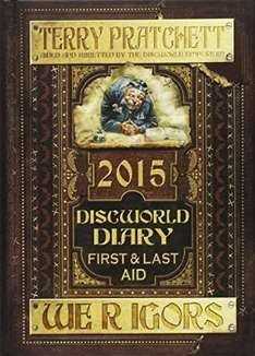 Terry Pratchett Discworld Diary 2015 -  We R Igors £1.99 @ Amazon (Free Delivery with prime/£10 spend)