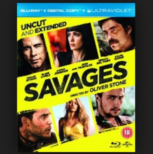 Savages Blu Ray £2.99 @ HMV