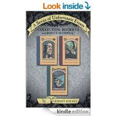 Kindle books - A Series of Unfortunate Events Collection (3 books) - £2.40 @ Amazon
