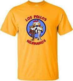 Breaking Bad Los Pollos Hermanos Small T-shirt £2.00 @ GAME