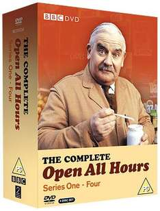 Open All Hours: Complete Series DVD £7.99 (£7.19 Using Code 'SHERLOCKPD') (One Day Only) @ BBC Shop
