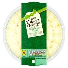 Tesco Raspberry Trifle 600G Half Price Was £2.50 Now £1.25