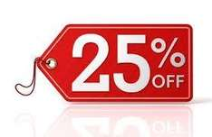 25% off of everything at Eureka Store!