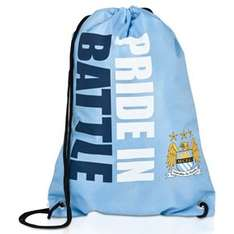 Manchester City 'Pride in battle' Gymbag £1 (was 8) free c+c at The Etihad/Market street