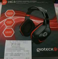 Gioteck HC3 stereo gaming headset - £30 at Game