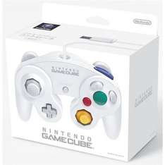 Official gamecube controller - white £19.80 using 25%COUPONFORYOU code on Rakuten (sold by Gameseek)