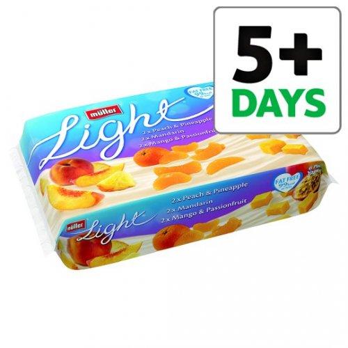 Muller Light Pack of 6s HALF PRICE at Tesco