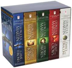 Amazon.de - A Song of Ice and Fire (Game of Thrones) 5-volume paperback boxset (in English), £23.68 delivered