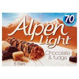 Alpen Light cereal bars 5pk all flavours £1  ASDA instore