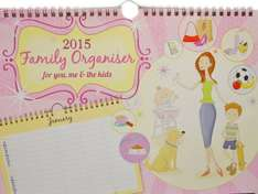 Family calendar wall planner at Amazon