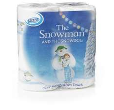 Snowman and the Snowdog Kitchen Roll (2pk)**glitch** scanning at 89p @ Morrisons