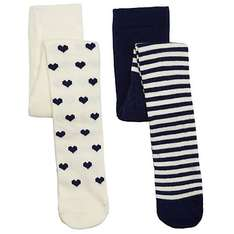 £3.50 for 2 pack baby girls tights, lots of pattern choices available in John Lewis SALE