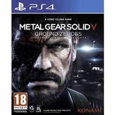 Metal Gear Solid V: Ground Zeroes (PS4) £15 WITH FREE DELIVERY @ Tesco Direct