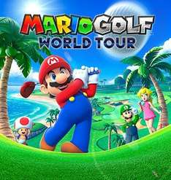 Mario Golf World Tour (3DS) ONLY £22.85 @ Shopto