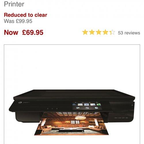 Hp envy 120 cheap £69.95 @ John Lewis